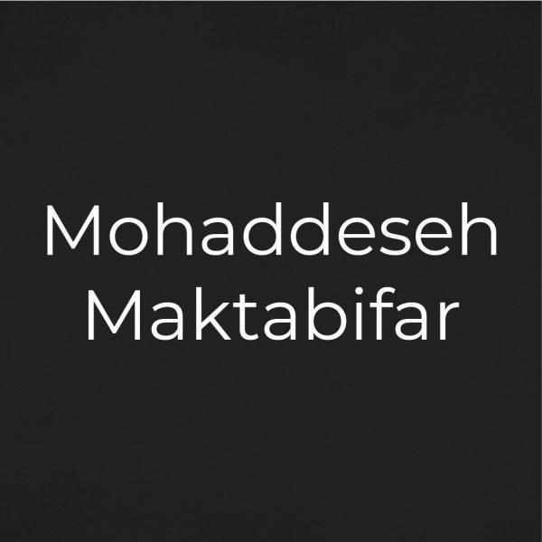 People_Mohaddeseh Maktabifar